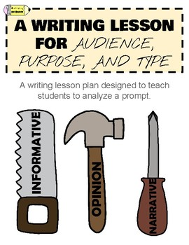 Writing Lesson Plan for Audience, Purpose, and Type