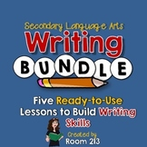 Writing Bundle for Secondary Language Arts