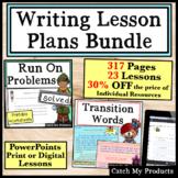 Writing Lessons Bundle