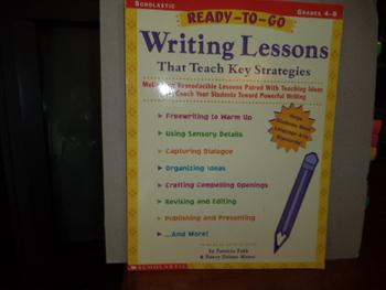 Writing Lessons That Teach Key Strategies  ISBN 0-439-13847-7