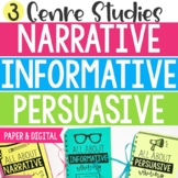Writing Lessons - Narrative, Informative, and Persuasive Writing (Digital incl.)