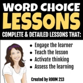 Writing Lessons: Word Choice