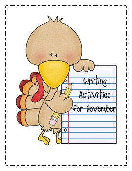 Writing Lessons for Thanksgiving and November