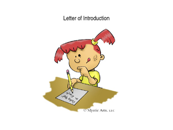 Writing: Letter of Introduction