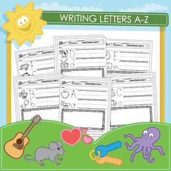 Writing Letters A-Z and Journal Entries