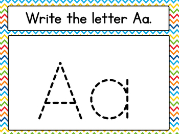 Writing Letters Flipchart