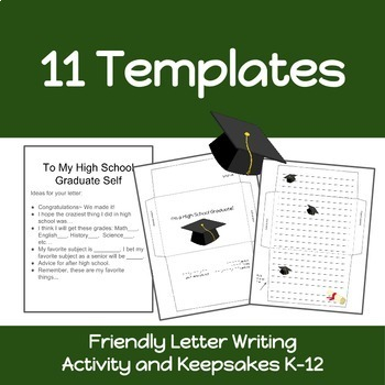 time capsule letters dear me keepsakes friendly letter skills