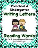 Writing Letters Reading Words (Preschool & Kindergarten)