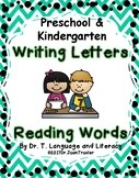 DISTANCE LEARNING: Writing Letters Reading Words (Preschoo