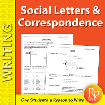 Writing Letters & Social Correspondence