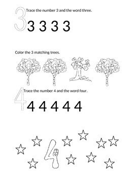 Writing Letters Workbook for Preschool
