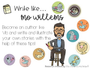 Mo Willems Writing Techniques