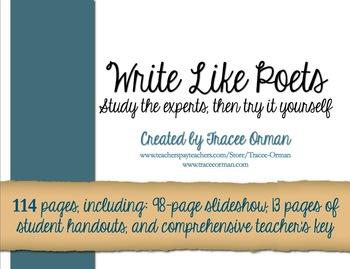 Writing Like Poets-Teach Your Students to Write Presentation Keynote