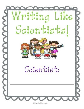 Writing Like Scientists Packet: All About Magnets: 16 Pages