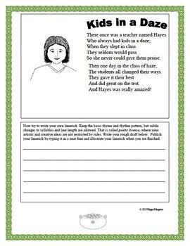 Limericks - How to Write Limericks (Fun for St. Patrick's Day)
