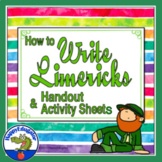 Limerick Poems - How to Write Limericks with Templates - St. Patrick's Day Fun