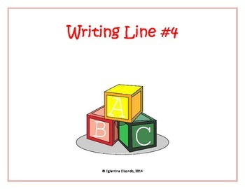 Writing Line #4