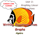 Writing Linear Equations From Graphs