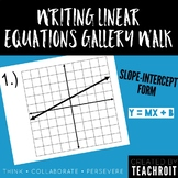 Writing Linear Equations Gallery Walk