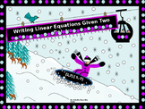 Algebra Power-Point:  Writing Linear Equations Given Two Points