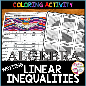 Writing Linear Inequalities Coloring Activity