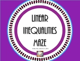 Writing Linear Inequalities Maze