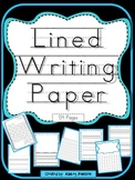 Writing Lined Paper