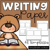 Writing Lined Paper Templates