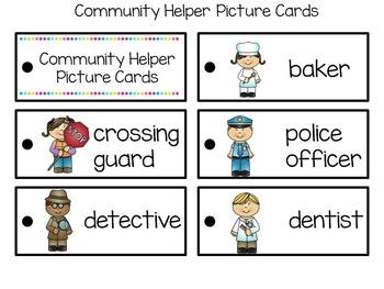 Writing Lists-Community Helpers