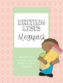 Writing Lists Galore Megapack