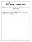 Writing Literacy-Write Your Story