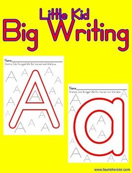 Writing-Little Kid Big Writing