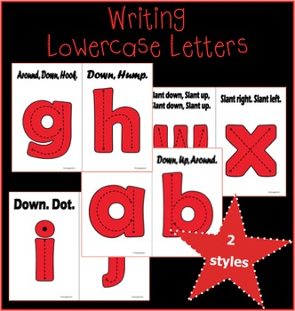 Writing Lowercase Letters