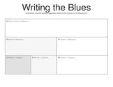 Writing Lyrics for a 12 Bar Blues - Graphic Organizer