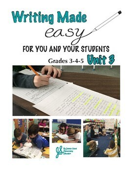 Writing Made Easy for Grades 3,4,5