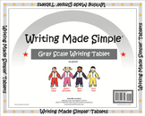 """Writing Made Simple"" Grey Scale Handwriting Tablet"