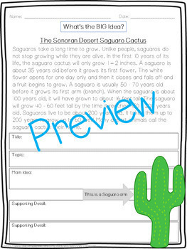 Writing Lessons! Main Idea and Persuasive Writing Lesson Plan Pack!
