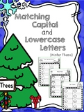 Writing {Matching Capital and Lowercase Letters} Winter Theme!