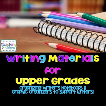 Writer's Notebooks in Upper Grades