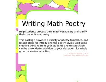 Writing Math Poetry