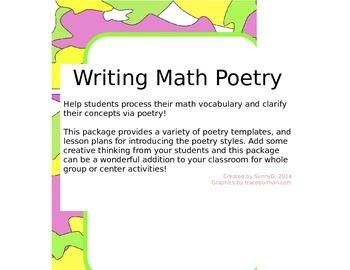 Writing Math Poetry
