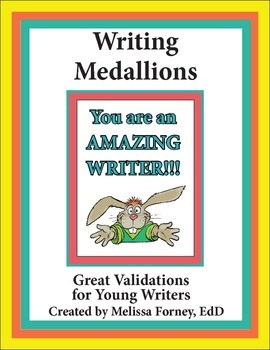 Writing Medallions for Young Writers FREE!!!