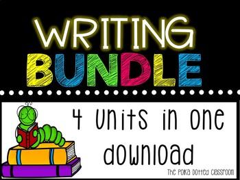 Writing Mega Bundle! {Descriptive, Paragraph, Persuasive, Informational}