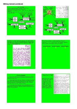 Writing Memoirs SMART NOTEBOOK Activities