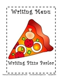 Writing Menu for Work Stations