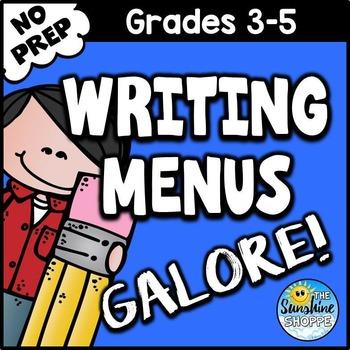 Writing Menus