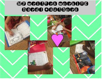 Writing Menus: Year Round School Year, 12 Months!