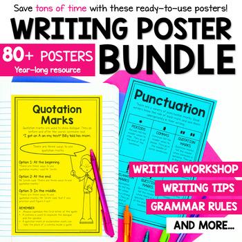 Writing Mini Anchor Charts Bundle