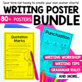 Writing Mini Anchor Charts Bundle