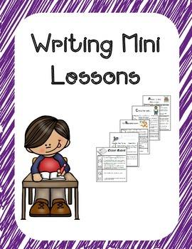 Writing Mini Lessons